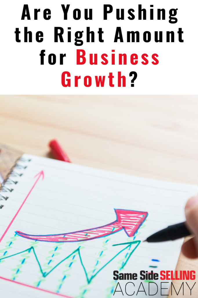 business growth same side selling academy
