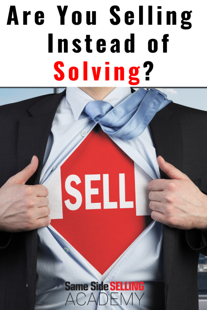 selling over solving