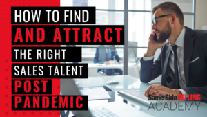 Attract the right sales talent