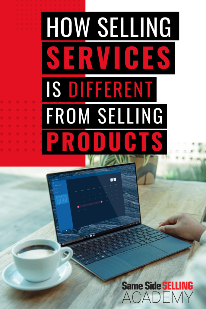 How selling services is different from selling products