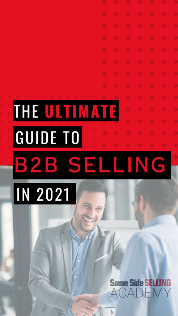 The ultimate guide to b2b selling